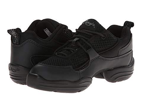 カペジオ CAPEZIO Dansneaker・・ スニーカー メンズ ユニセックス 【 Fierce Dansneaker・・ 】 Black