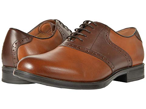 FLORSHEIM スニーカー 【 MIDTOWN SADDLE OXFORD COGNAC BROWN 】 メンズ 送料無料