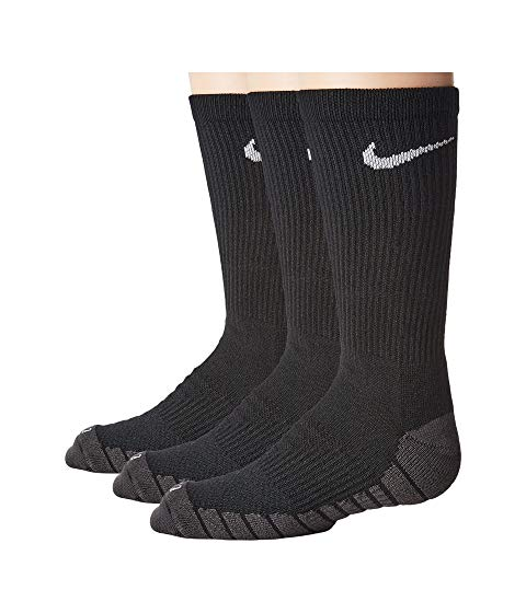 ナイキ キッズ NIKE KIDS ソックス 靴下 キッズ ベビー マタニティ 下 ジュニア 【 Dry Cushion Crew Socks 3-pair Pack (toddler/little Kid/big Kid) 】 Black/anthracite/white