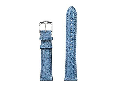 【海外限定】ストラップ 青 ブルー 腕時計 レディース腕時計 【 BLUE 18MM SEAMIST FISH SKIN STRAP 】