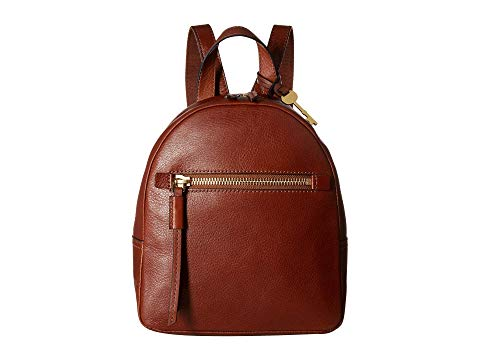 FOSSIL バックパック バッグ リュックサック 茶 ブラウン 【 BROWN FOSSIL MEGAN BACKPACK 】 バッグ