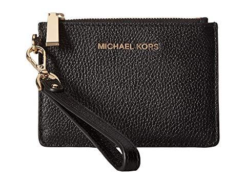 MICHAEL MICHAEL KORS コイン 黒 ブラック 【 BLACK MICHAEL KORS MERCER SMALL COIN PURSE 】 バッグ
