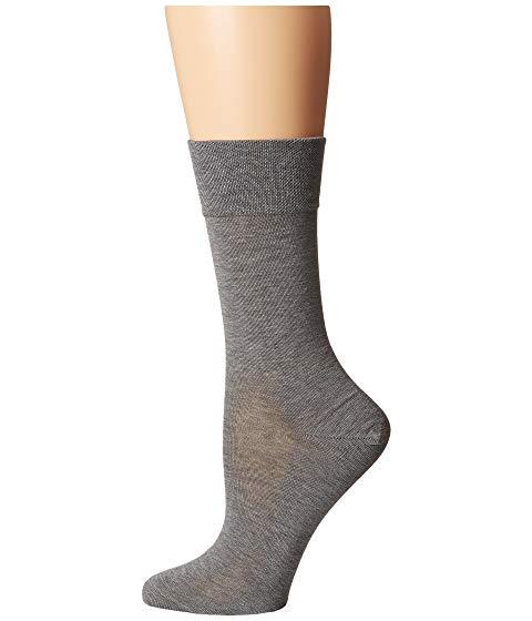 FALKE ソックス 靴下 インナー 下着 ナイトウエア レディース 下 レッグ 【 Sensitive Malaga Socks 】 Light Grey
