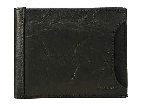 FOSSIL ウォレット 財布 黒 ブラック 【 WALLET BLACK FOSSIL NEEL SLIDING 2IN1 】 バッグ
