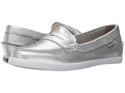 コールハーン COLE HAAN レディース 【 Pinch Weekender 】 Argento Metallic Leather