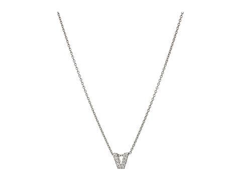 【海外限定】コイン ダイヤモンド ネックレス ジュエリー 【 ROBERTO COIN DIAMOND INITIAL NECKLACE 】