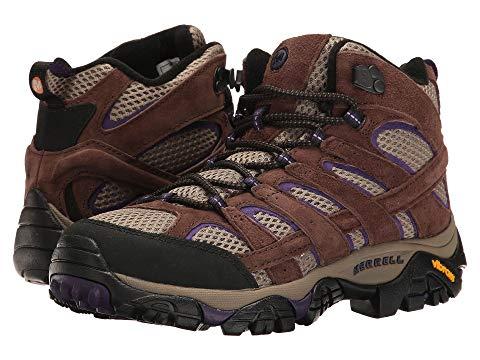 【★スーパーセール中★ 6/11深夜2時迄】MERRELL ミッド メンズ ブーツ レディース 【 Moab 2 Vent Mid 】 Bracken/purple