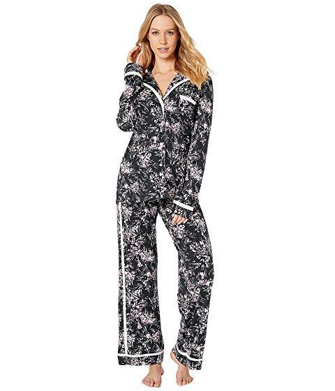 【スーパーセール中! 3/11深夜2時迄】【海外限定】スリーブ ルームウェア インナー 【 SLEEVE COSABELLA BELLA PRINTED AMORE LONG TOP PANTS PJ SET 】【送料無料】