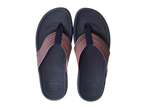 FITFLOP スニーカー メンズ 【 Surfer Freshweave 】 Neon Orange Mix Microwobbleboard