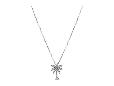 ROBERTO COIN コイン ネックレス 白 ホワイト 【 WHITE ROBERTO COIN TINY TREASURES PALM TREE NECKLACE WITH DIAMONDS 】 ジュエリー アクセサリー レディースジュエリー ネックレス