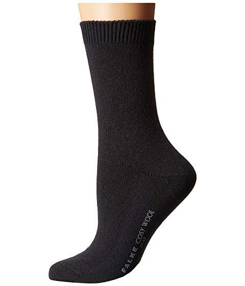 FALKE インナー 下着 ナイトウエア レディース 下 レッグ 【 Cosy Wool Sock 】 Anthracite