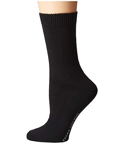 FALKE インナー 下着 ナイトウエア レディース 下 レッグ 【 Cosy Wool Sock 】 Black