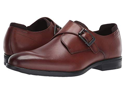 KENNETH COLE REACTION スニーカー 【 EDGE FLEX MONK COGNAC 】 メンズ 送料無料