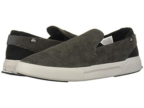 QUIKSILVER プレミアム スニーカー メンズ 【 Surf Check Ii Premium 】 Grey/black/grey
