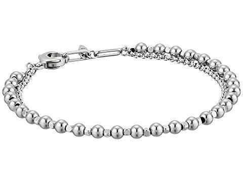 FOSSIL ブレスレット ジュエリー アクセサリー レディースジュエリー レディース 【 Multi-beaded Bracelet 】 Silver