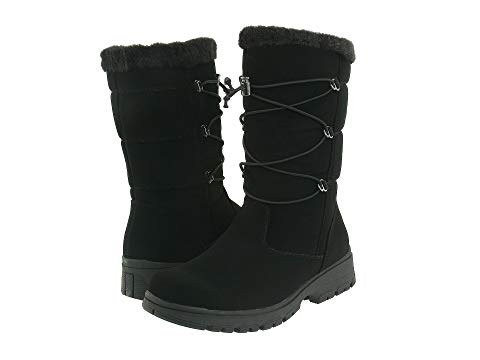 TUNDRA BOOTS 黒 ブラック 【 BLACK TUNDRA BOOTS LACIE 】 メンズ ブーツ