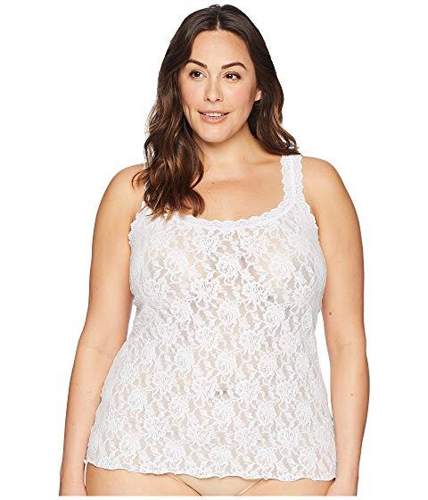 HANKY PANKY インナー 下着 ナイトウエア レディース 【 Plus Size Signature Lace Unlined Cami 】 White