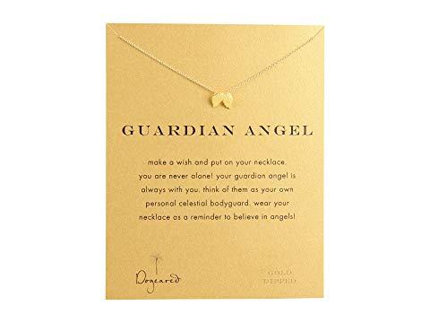 ドギャード DOGEARED 【 GUARDIAN ANGEL REMINDER NECKLACE GOLD DIPPED 】 ジュエリー アクセサリー レディースジュエリー ネックレス 送料無料