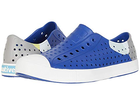 【NeaYearSALE1/1-1/5】NATIVE SHOES スニーカー 【 JEFFERSON BLOCK MARINE BLUE SHELL WHITE DOT 】 メンズ 送料無料