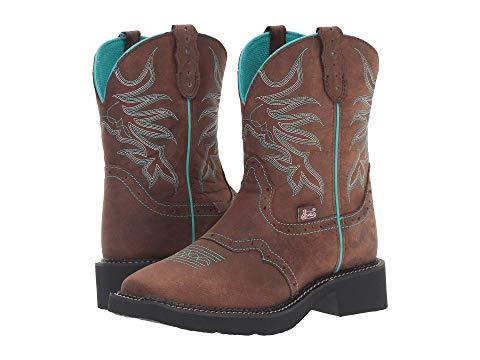 【★スーパーセール中★ 6/11深夜2時迄】JUSTIN メンズ ブーツ レディース 【 Mandra 】 Chocolate Leather