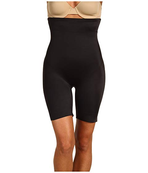 MIRACLESUIT SHAPEWEAR スムース インナー 下着 ナイトウエア レディース 【 Extra Firm Real Smooth Hi-waist Thigh Slimmer 】 Black