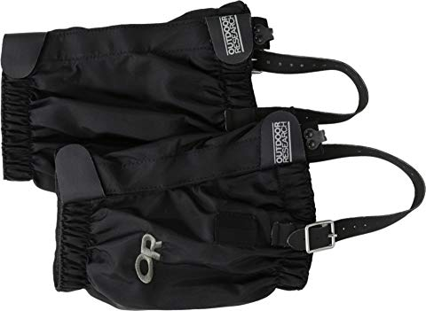 OUTDOOR RESEARCH 黒 ブラック スニーカー 【 BLACK OUTDOOR RESEARCH ROCKY MTN LOW GAITERS 】 メンズ スニーカー