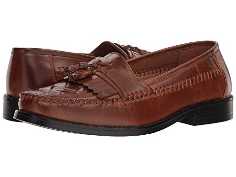 ディアースタッグス DEER STAGS レザー スニーカー 【 DEER STAGS HERMAN TASSEL LOAFER COGNAC SIMULATED LEATHER 】 メンズ スニーカー