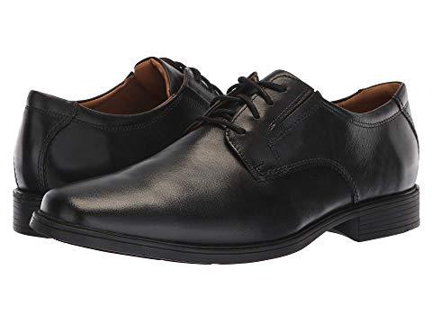 クラークス CLARKS スニーカー メンズ 【 Tilden Plain Ii 】 Black Waterproof Leather