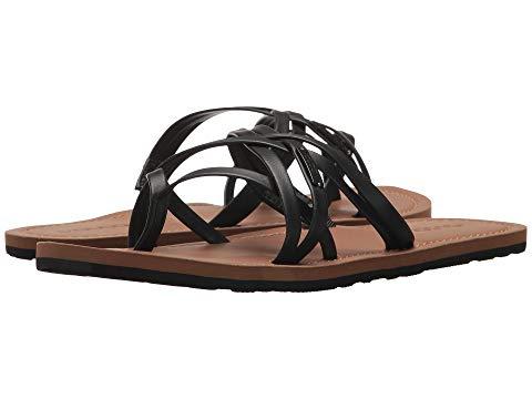 VOLCOM ストラップ レディース 【 Strap Happy Sandals 】 Black
