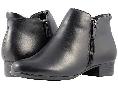 【★スーパーセール中★ 6/11深夜2時迄】TROTTERS メンズ ブーツ レディース 【 Major 】 Black Smooth Leather