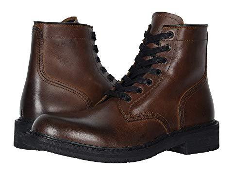 FRYE AND CO. ブーツ スニーカー メンズ 【 Peak Work Boot 】 Dark Brown Pull Up Grain Leather
