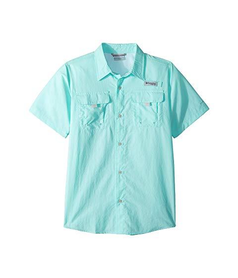 コロンビアキッズ COLUMBIA KIDS スリーブ 【 SLEEVE COLUMBIA KIDS BAHAMA SHORT SHIRT LITTLE KID BIG GULF STREAM 】 メンズファッション トップス Tシャツ カットソー