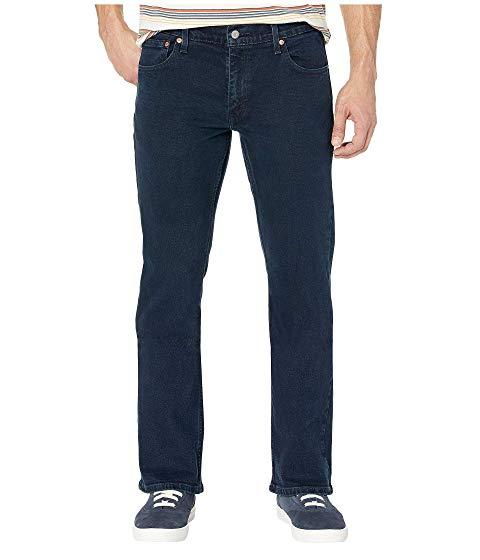LEVI'S・・ MENS メンズ スリム 黒 ブラック LEVI'S・・ 527・・ 【 SLIM BLACK MENS BOOTCUT MOSS OVERDYE 】 メンズファッション ズボン パンツ