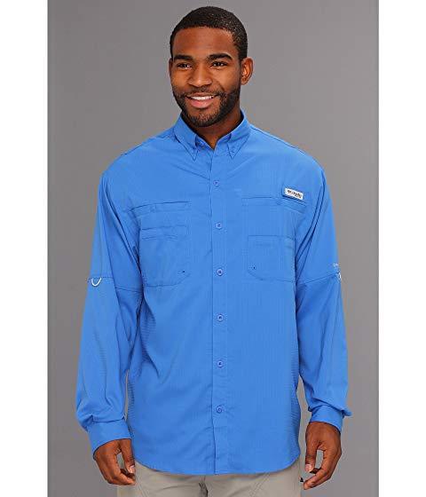 【スーパーセール中! 6/11深夜2時迄】コロンビア COLUMBIA 長袖 ロングスリーブ Tamiami? メンズファッション トップス Tシャツ カットソー メンズ 【 Tamiami? Ii L/s 】 Vivid Blue