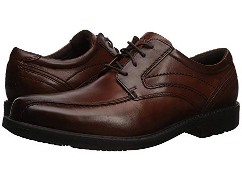 ROCKPORT オックスフォード メンズ ビジネススニーカー 【 Style Leader 2 Bike Toe Oxford 】 New Brown Gradient 1