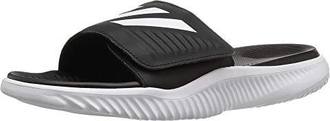アディダス ADIDAS サンダル 白 ホワイト コア 黒 ブラック 【 SLIDE WHITE BLACK ADIDAS ALPHABOUNCE FOOTWEAR CORE 】 メンズ サンダル