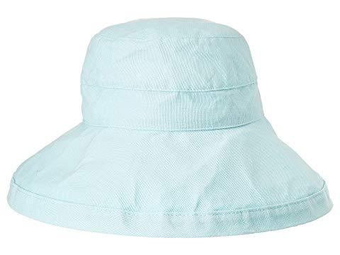 SCALA アクア 【 SCALA BIG BRIM COTTON SUN HAT AQUA 】 バッグ  キャップ 帽子 レディースキャップ 帽子