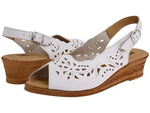 SPRING STEP レディース 【 Orella 】 White Leather