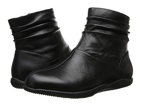 【★スーパーセール中★ 6/11深夜2時迄】SOFTWALK メンズ ブーツ レディース 【 Hanover 】 Black Soft Nappa Leather