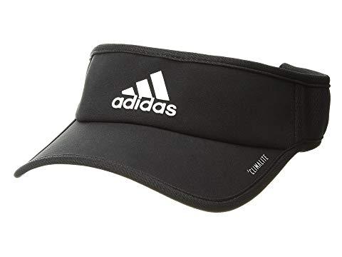 アディダス ADIDAS キャップ キャップ 帽子 黒 ブラック 白 ホワイト 【 BLACK WHITE ADIDAS SUPERLITE VISOR CAP 】 バッグ  キャップ 帽子 メンズキャップ 帽子