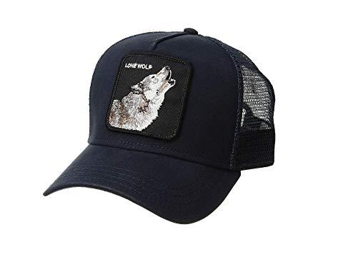 GOORIN BROTHERS トラッカー 紺 ネイビー 【 NAVY GOORIN BROTHERS ANIMAL FARM SNAP BACK TRUCKER HAT WOLF 】 バッグ  キャップ 帽子 メンズキャップ 帽子