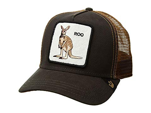 GOORIN BROTHERS トラッカー 茶 ブラウン 【 BROWN GOORIN BROTHERS ANIMAL FARM SNAP BACK TRUCKER HAT ROO 】 バッグ  キャップ 帽子 メンズキャップ 帽子