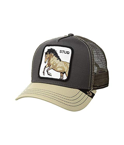 GOORIN BROTHERS トラッカー 灰色 グレ 【 GOORIN BROTHERS ANIMAL FARM SNAP BACK TRUCKER HAT GREY YOU STUD 】 バッグ  キャップ 帽子 メンズキャップ 帽子