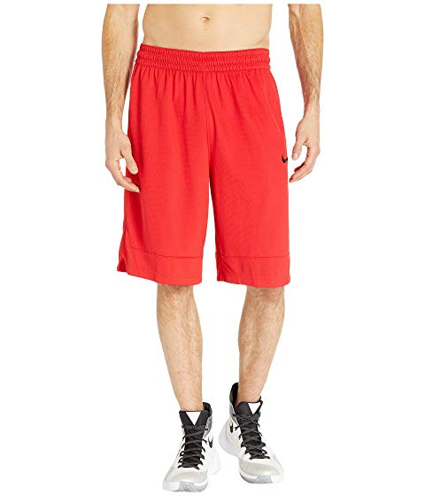 ナイキ NIKE アイコン ショーツ ハーフパンツ 赤 レッド 黒 ブラック 【 RED BLACK NIKE DRY ICON SHORTS UNIVERSITY 】 メンズファッション ズボン パンツ
