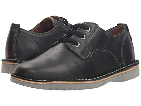 FLORSHEIM KIDS オックスフォード クレイジー JR. 【 NAVIGATOR PLAIN TOE OXFORD TODDLER LITTLE KID BIG BLACK CRAZY HORSE 】 キッズ ベビー マタニティ 送料無料