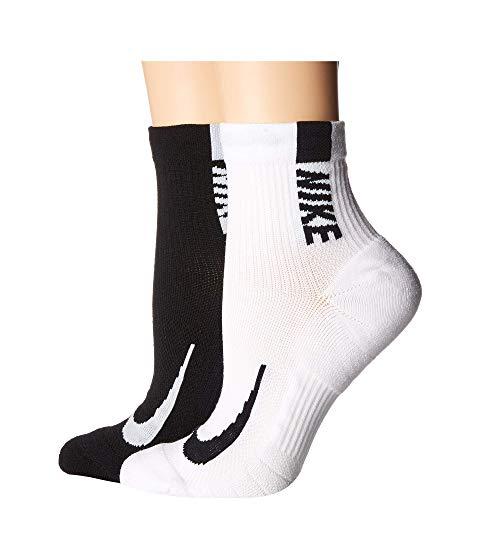 ナイキ NIKE ソックス 靴下 インナー 下着 ナイトウエア ユニセックス 下 レッグ 【 Multiplier Running Ankle Socks 2-pair Pack 】 Multicolor 1