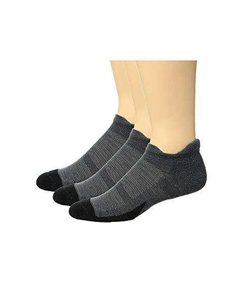 FEETURES インナー 下着 ナイトウエア ユニセックス 下 レッグ 【 Merino 10 Cushion No Show Tab 3-pair Pack 】 Gray