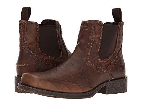 【★スーパーセール中★ 6/11深夜2時迄】アリアト ARIAT メンズ ブーツ 【 Midtown Rambler 】 Barn Brown