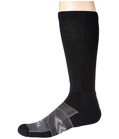 THORLOS インナー 下着 ナイトウエア ユニセックス 下 レッグ 【 12-hr Shift Work Sock Over Calf Single Pair 】 Black/grey