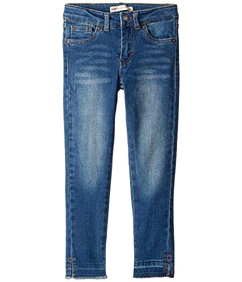 【NeaYearSALE1/1-1/5】LEVI'S? KIDS 【 710 LOLA ANKLE SUPER SKINNY JEANS TODDLER BLUE WINDS 】 キッズ ベビー マタニティ ボトムス 送料無料